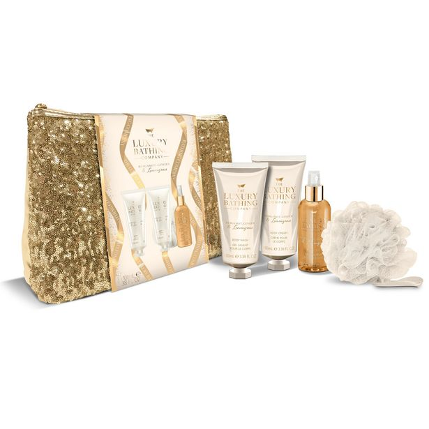 Luxury Bathing Company fascination sequin bag offer at £4.99