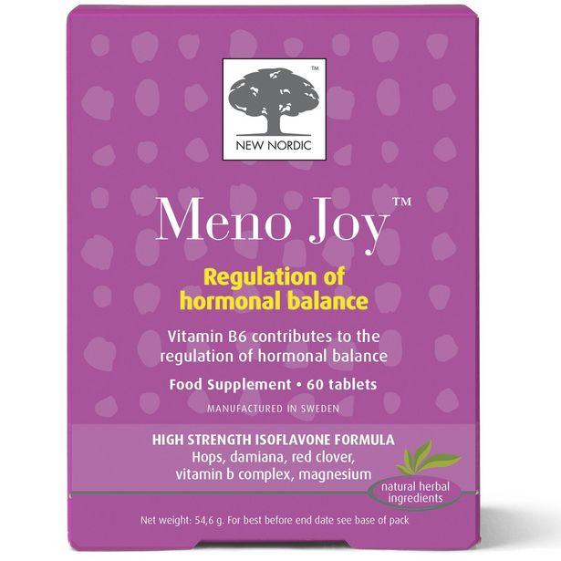 New Nordic Meno Joy 60 tablets offer at £24.95