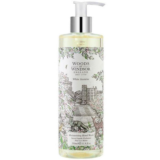 Woods of Windsor white jasmine hand wash 350ml offer at £4.66