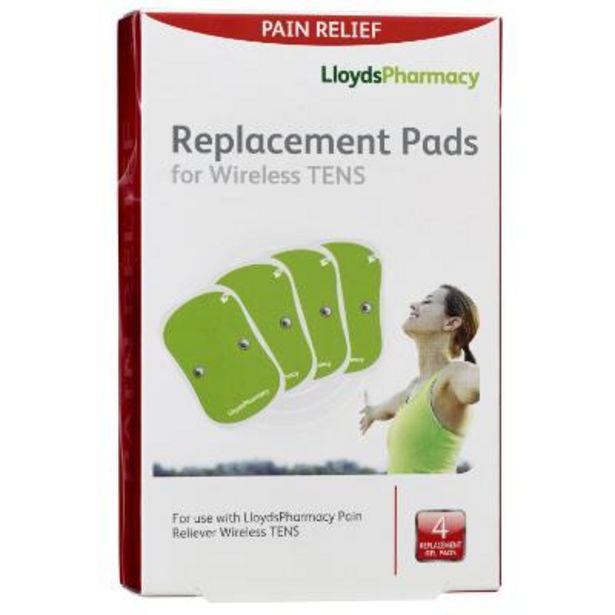 TENS wireless replacement pads offer at £6.99