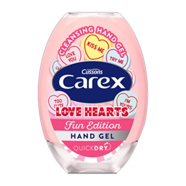 Carex Love Hearts hand gel offer at £1.12