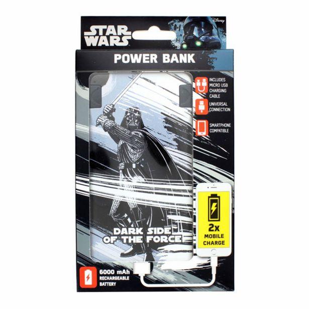 Star Wars 6,000mAh Powerbank Vader offer at £15.99