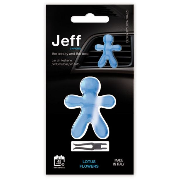 Jeff Chrome Light Blue Lotus Flowers offer at £1.39