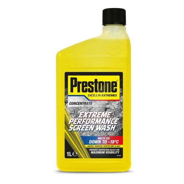 Prestone -23c Concentrated Screenwash 1Ltrs Winter Season offer at £5.29
