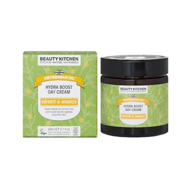 Beauty Kitchen Abyssinian Oil Hydra Boost Day Cream 60ml offer at £11.25