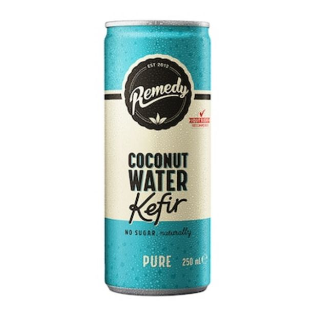 Remedy Coconut Water Kefir Pure 250ml offer at £1