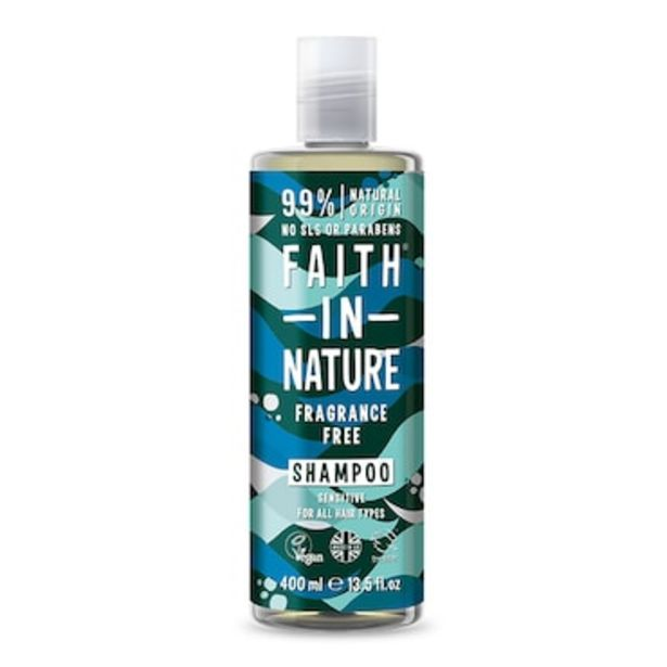 Faith in Nature Fragrance Free Shampoo 400ml offer at £3.67