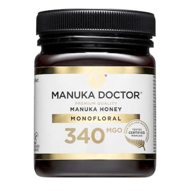 Manuka Doctor Premium Monofloral Manuka Honey MGO 340 250g offer at £28.99