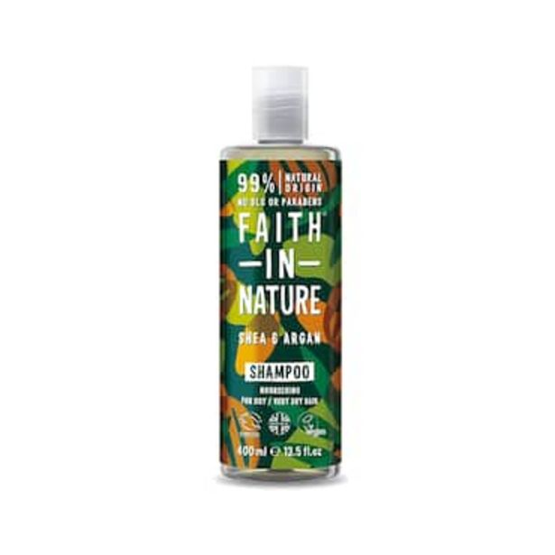 Faith in Nature Shea & Argan Shampoo 400ml offer at £3.67
