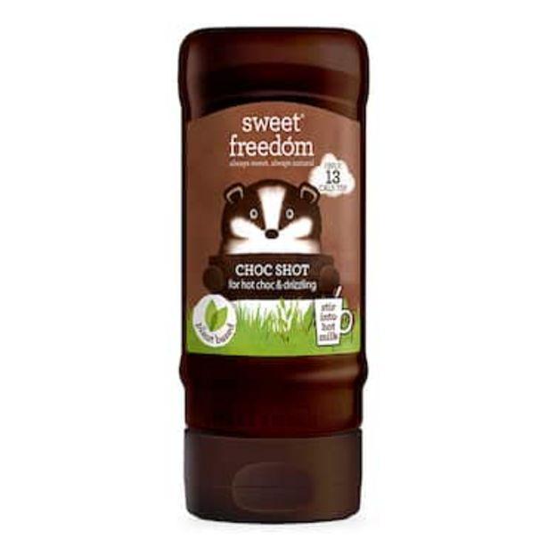 Sweet Freedom Choc Shot Liquid Chocolate 320g offer at £2.99