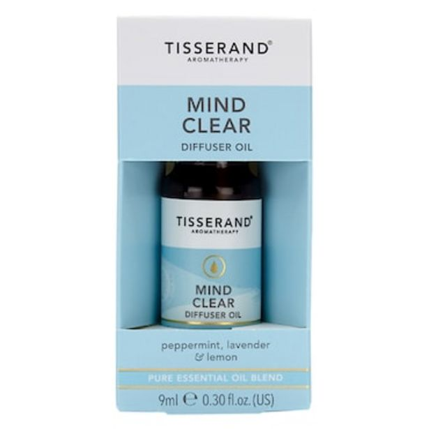 Tisserand Mind Clear Diffuser Oil 9ml offer at £5.21
