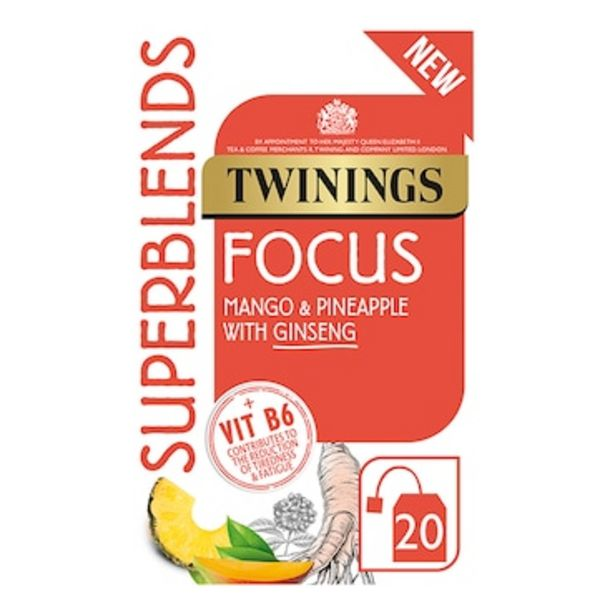 Twinings Super Blends Focus 30g offer at £2.24