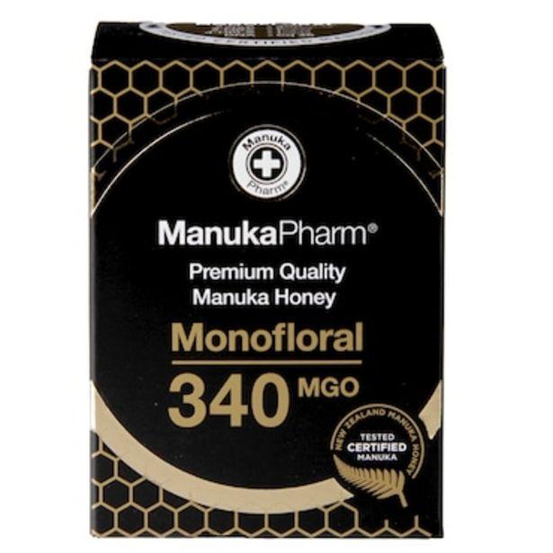 Manuka Pharm Premium Monofloral Manuka Honey MGO 340 250g offer at £28.99