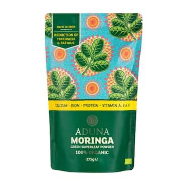Aduna Moringa Green Superleaf 275g Powder offer at £10.49