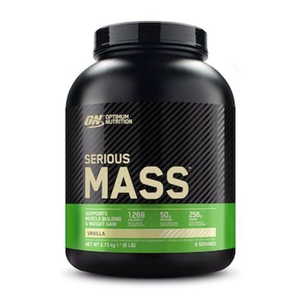 Optimum Nutrition Serious Mass Powder Vanilla 2.7kg offer at £26