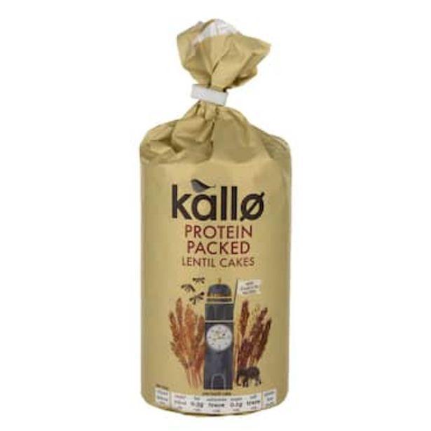 Kallo Protein Lentil Cakes 100g offer at £1.49