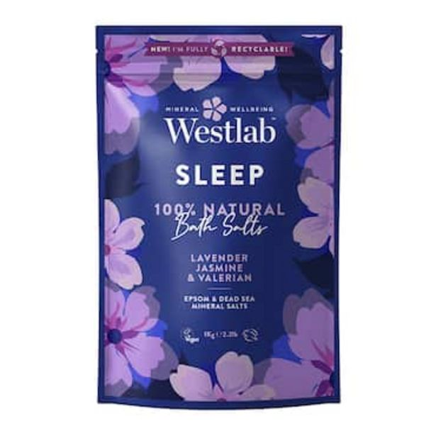 Westlab Sleep Bathing Salts 1kg offer at £3.49