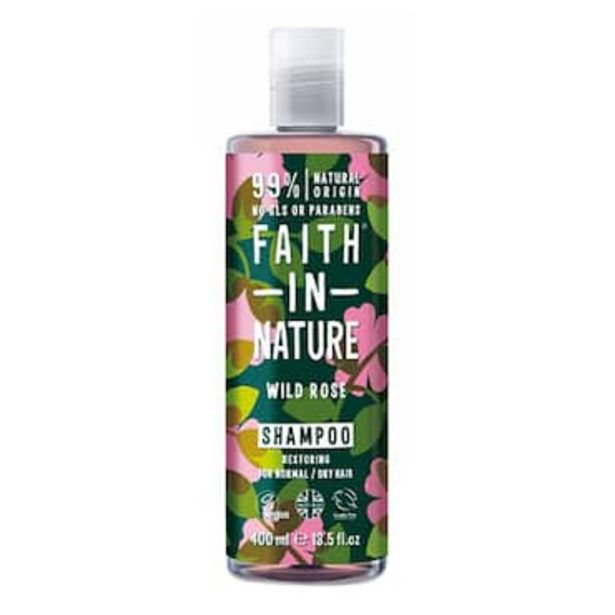 Faith In Nature Wild Rose Shampoo 400ml offer at £3.67