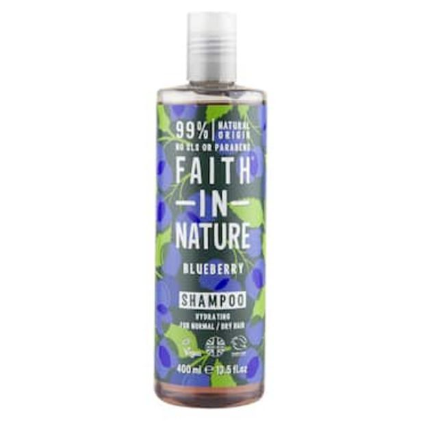 Faith in Nature Blueberry Shampoo 400ml offer at £3.67