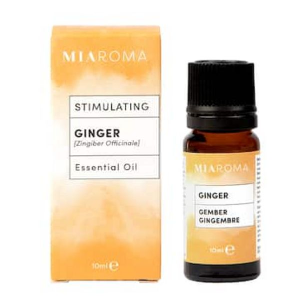 Miaroma 100% Pure Ginger Oil 10ml offer at £4