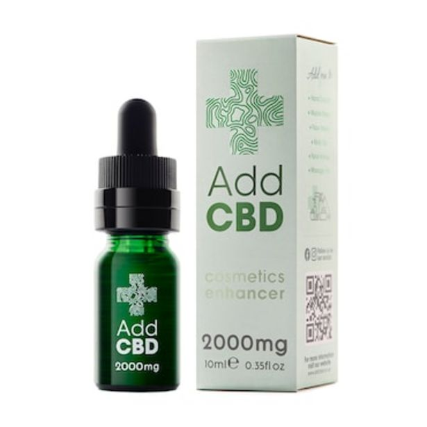 AddCBD Cosmetic Enhancer 2000mg offer at £9.99