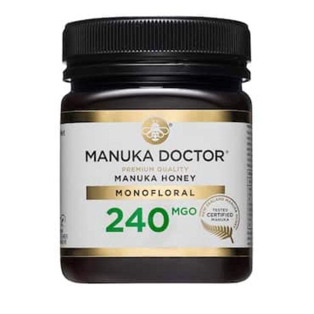 Manuka Doctor Premium Monofloral Manuka Honey MGO 240 250g offer at £25.99
