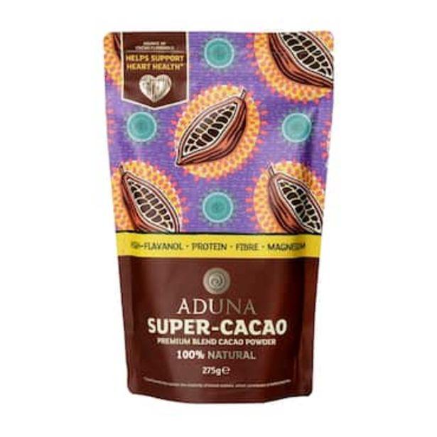 Aduna Super-Cacao Premium Blend Cacao Powder 275g offer at £7.49