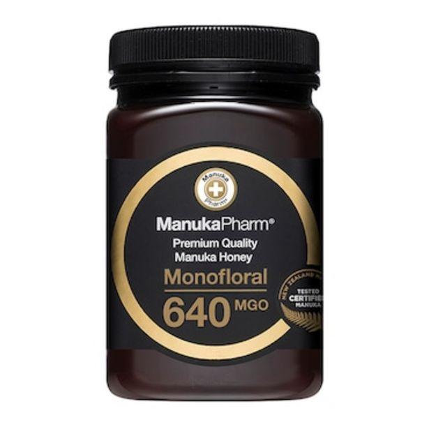 Manuka Pharm Manuka Honey MGO 640 500g offer at £79.99