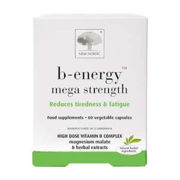 New Nordic B Energy 60 Capsules offer at £22.46