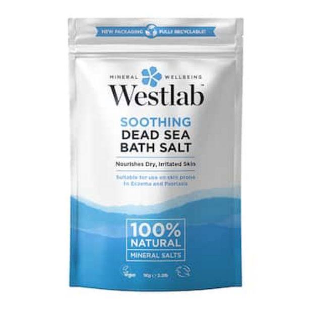 Westlab Dead Sea Salt 1kg offer at £2.49