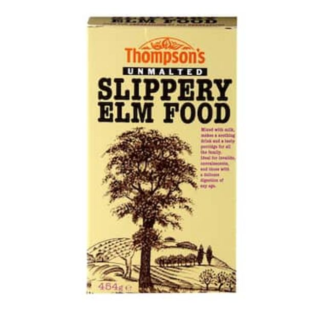Thompsons Unmalted Slippery Elm Food 454g offer at £4.26