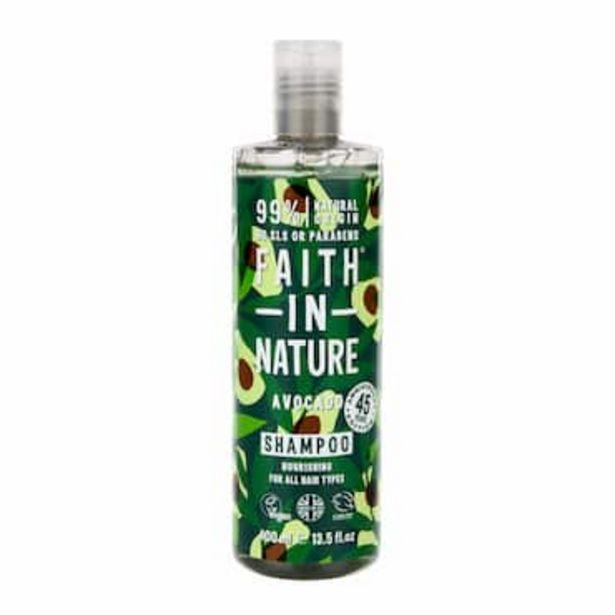 Faith In Nature Avocado Shampoo 400ml offer at £3.67