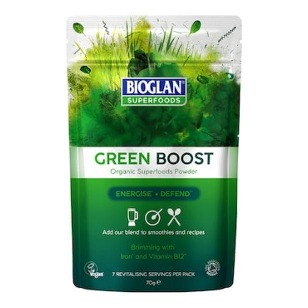 Bioglan Organic Green Boost Powder 70g offer at £6.69