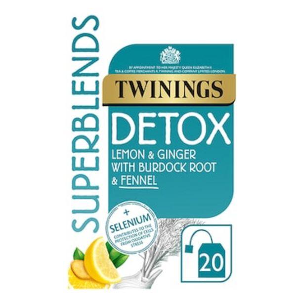 Twinings Super Blends Detox 40g offer at £2.24