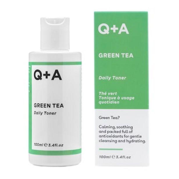Q+A Green Tea Toner 100ml offer at £6