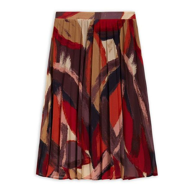 Sandwich Colourful Midi Skirt - Bordeaux offer at £66