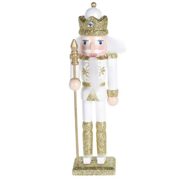Nutcracker 18cm with Crown offer at £11.19