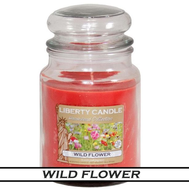 Liberty Candles HomeStead 18 Oz Wild Flower offer at £9.99