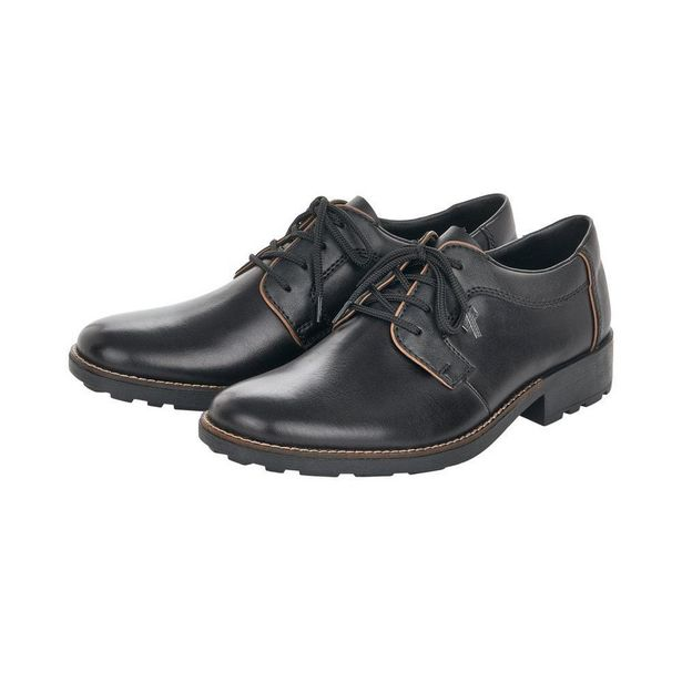 Rieker 16024-00 Men's Black Lace Up Shoes offer at £34.99