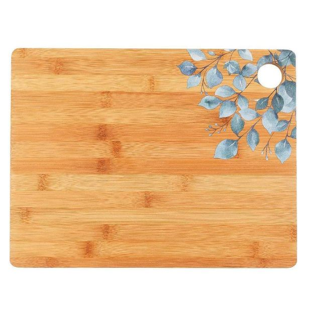Cambridge Bamboo Printed Chopping Board offer at £6.99