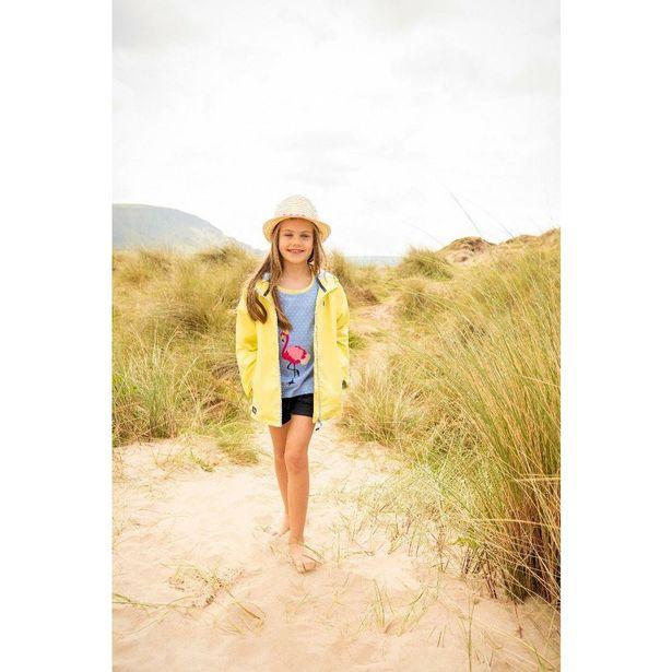 Little Lighthouse Olivia Girls Coat - Lemon offer at £26.4