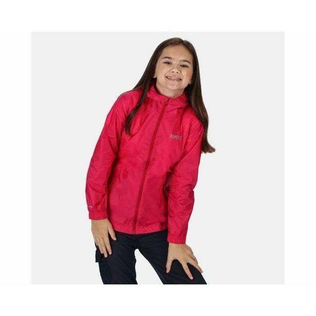 Regatta Pack It Lightweight Waterproof Hooded Packaway Walking Jacket Cabaret offer at £9