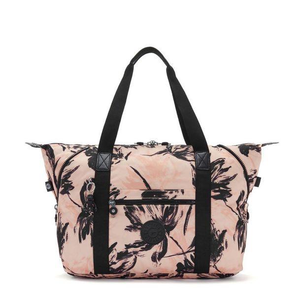 Kipling Art M Large Tote Bag -  Coral Flower offer at £66.99