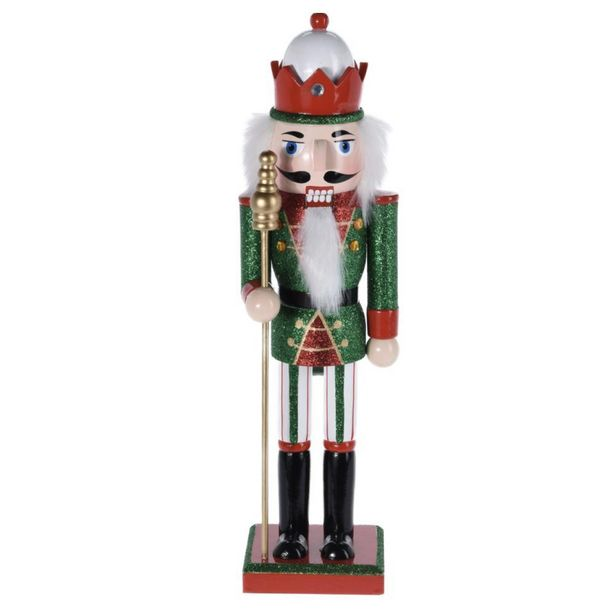 36cm Nutcracker with Crown offer at £20.99
