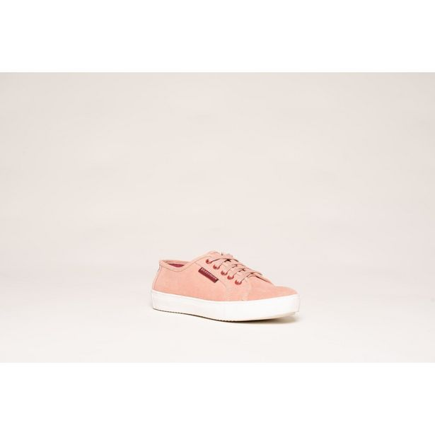 Brakeburn Lace Up Tennis Shoe - Dusty Rose offer at £27.99