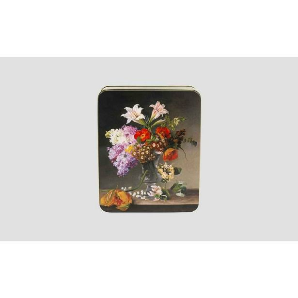 Moores Biscuits Floral Display - Biscuit Collection - Tin 600g offer at £7.95