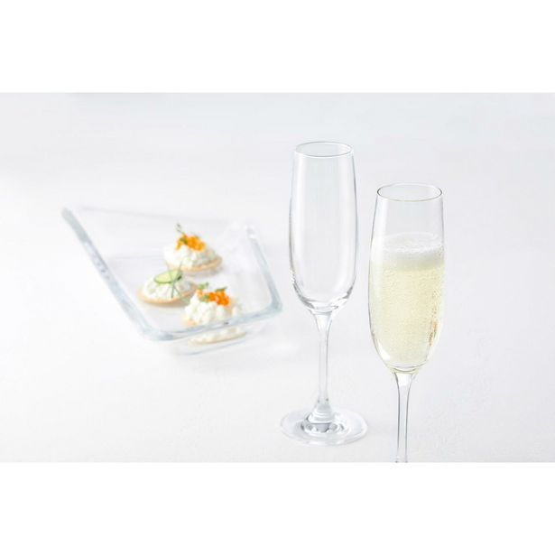 Leonardo Ciao+ Champagne Glass - Set of 6 offer at £29.95