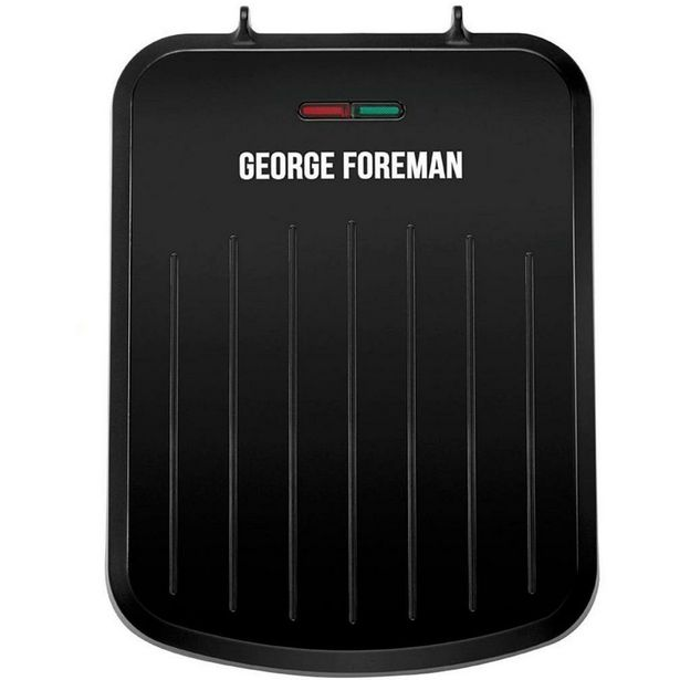25800 George Foreman Small Fit Grill Black offer at £21.99