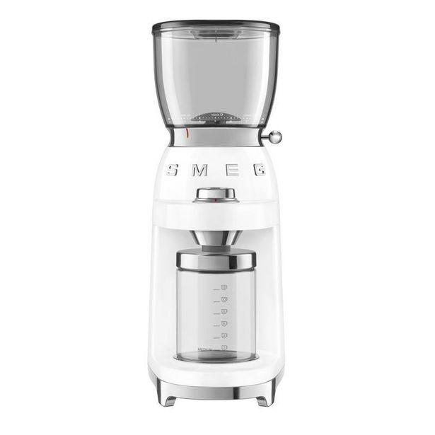 CGF01WHUK Smeg Coffee Grinder White offer at £178.99
