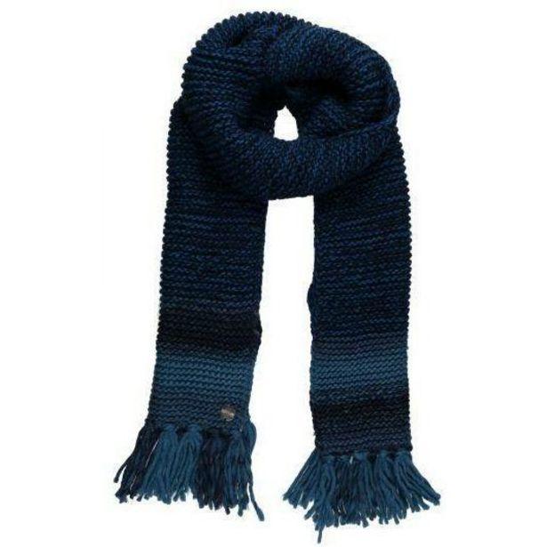 Regatta Frosty IV Knitted Fringe Hem Scarf - Navy offer at £10.5